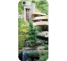 Frank Lloyd Wright's Fallingwater iPhone Case/Skin
