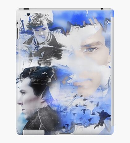 """Not A Psychopath""- Sherlock Holmes iPad Case/Skin"