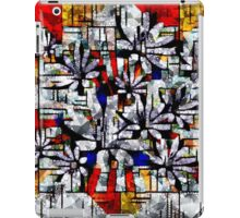 Daisy Abstract after Mondrian iPad Case/Skin