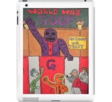 World War Goop iPad Case/Skin