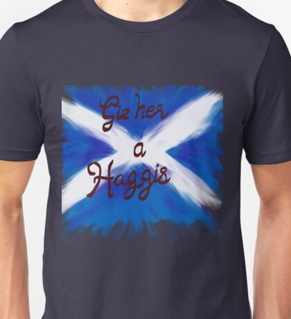 Gie her a Haggis Unisex T-Shirt