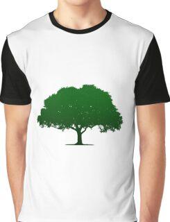 Green Tree Graphic T-Shirt