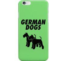 German Dogs iPhone Case/Skin