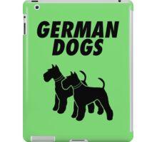 German Dogs iPad Case/Skin