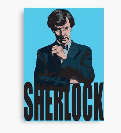 Sherlock ( Tv Series ) Canvas Print