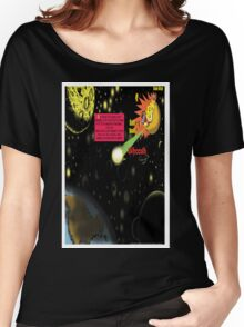 Bird of Steel Comix - Page #2-8 (Red Bubble POP-ART COLLECTION SERIES) Women's Relaxed Fit T-Shirt