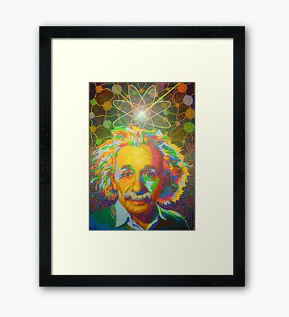 Genius digital - 2017 Framed Print