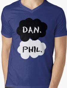 Dan & Phil - TFIOS Mens V-Neck T-Shirt
