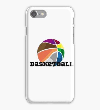 Colourful Basketball iPhone Case/Skin