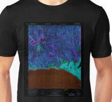 USGS TOPO Map California CA Topanga 300898 1952 24000 geo Inverted Unisex T-Shirt