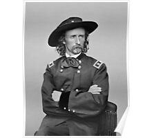 General George Armstrong Custer Poster