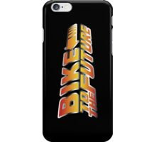 Bike To The Future iPhone Case/Skin