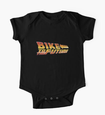 Bike To The Future One Piece - Short Sleeve