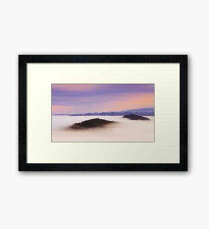 Natural mystic Framed Print