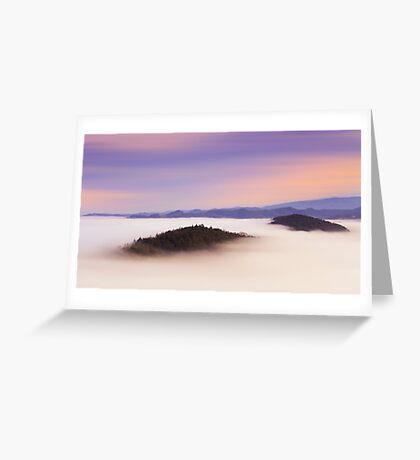 Natural mystic Greeting Card
