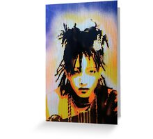 Willow Smith Stencil Greeting Card