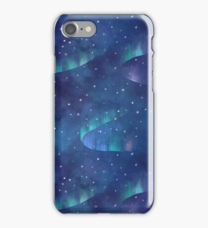 Aurora borealis iPhone Case/Skin
