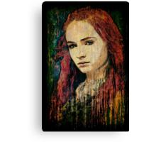 Sansa Stark Canvas Print
