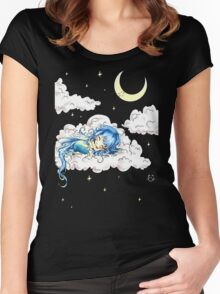 Night Fairy Women's Fitted Scoop T-Shirt