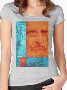 Leonardo Da Vinci Women's Fitted Scoop T-Shirt