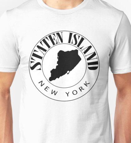 Staten Island Stamp Unisex T-Shirt