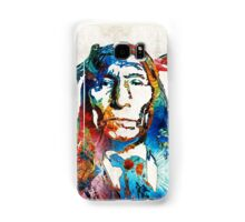Native American Art - Warrior - By Sharon Cummings Samsung Galaxy Case/Skin