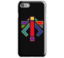XCOM - ADVENT LOGO (Rainbow) iPhone Case/Skin