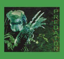 Predator Movie Poster Kids Tee