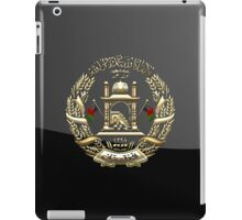 Afghanistan National Emblem  iPad Case/Skin