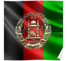 Afghanistan National Emblem  Poster