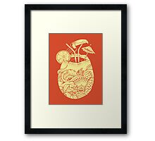 Drunk Toucan  Framed Print
