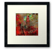 London by night Framed Print
