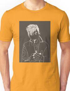 Alex Turner outline Unisex T-Shirt