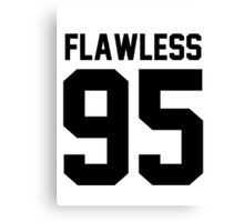 Flawless '95 - Jersey Tee  Canvas Print