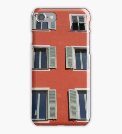 Three Floors Of Windows iPhone Case/Skin