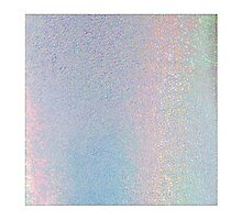 Silver Holographic Photographic Print