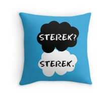Sterek - TFIOS Throw Pillow