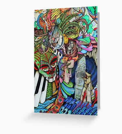 It Is In Here You'll Find Me Hiding Greeting Card