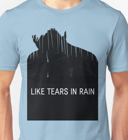 BLADE RUNNER - ROY BATTY - LIKE TEARS IN RAIN Unisex T-Shirt