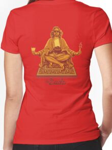 The dude - Big Lebowski Women's Fitted V-Neck T-Shirt