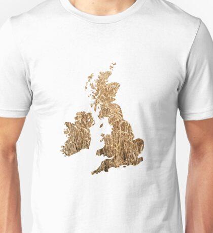 UK arable farming. Unisex T-Shirt