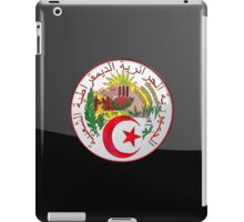 Algeria - Coat of Arms  iPad Case/Skin