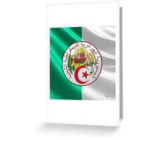 Algeria - Coat of Arms  Greeting Card