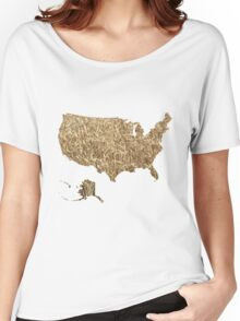 US arable farming Women's Relaxed Fit T-Shirt