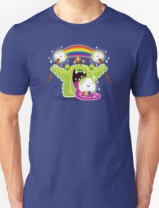 Cute Happy Fun Time Furry Rainbow Cloud Monster T-Shirt