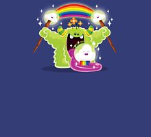 Cute Happy Fun Time Furry Rainbow Cloud Monster Unisex T-Shirt