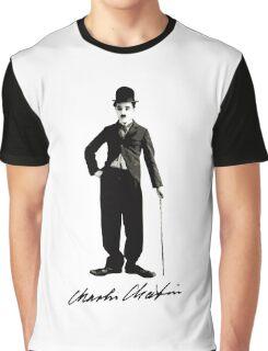 Charlie Chaplin - Autograph Graphic T-Shirt