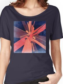 Vintage Orange Rectangles Women's Relaxed Fit T-Shirt