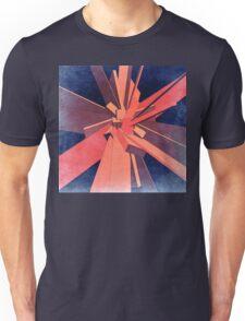 Vintage Orange Rectangles Unisex T-Shirt