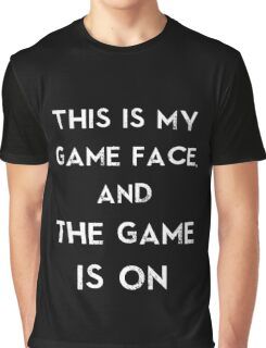 Sherlock This is my game face Graphic T-Shirt